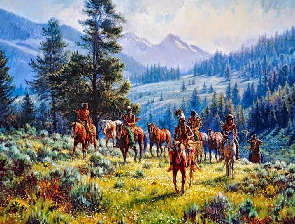 pinturas-de-caballos-e-indios