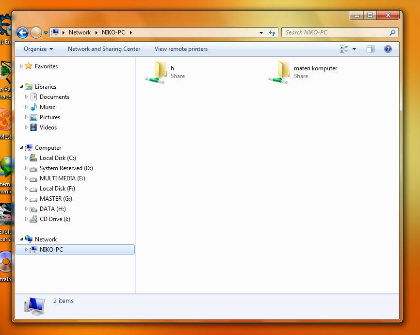 ... Pemula] Cara Sharing File/Folder dan Drive di Windows (7, 8, dan 8.1