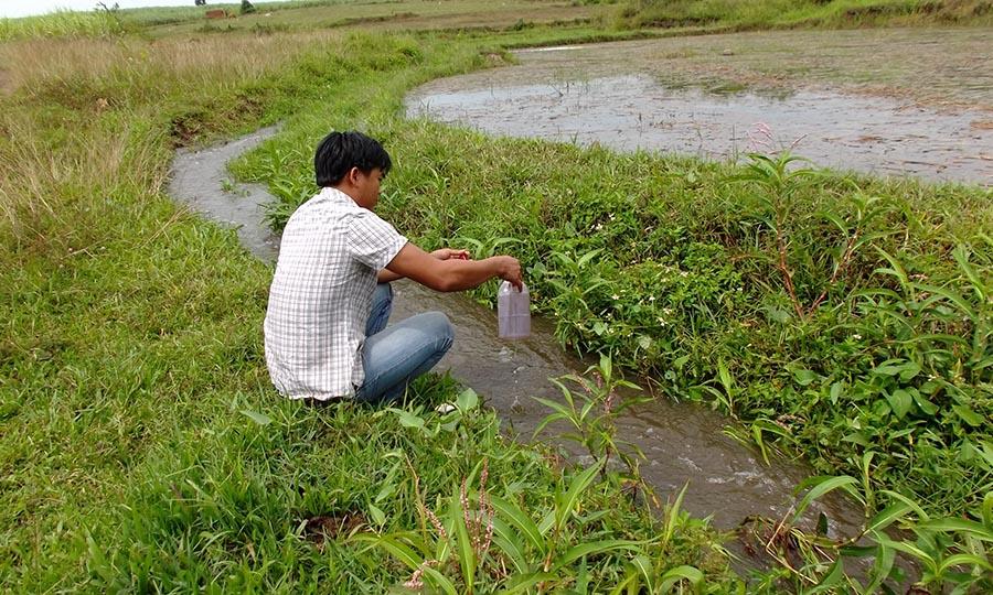 Gia Lai: Kiểm tra Trại chăn nuôi bò và quan trắc nguồn nước sông Ba tại An Khê