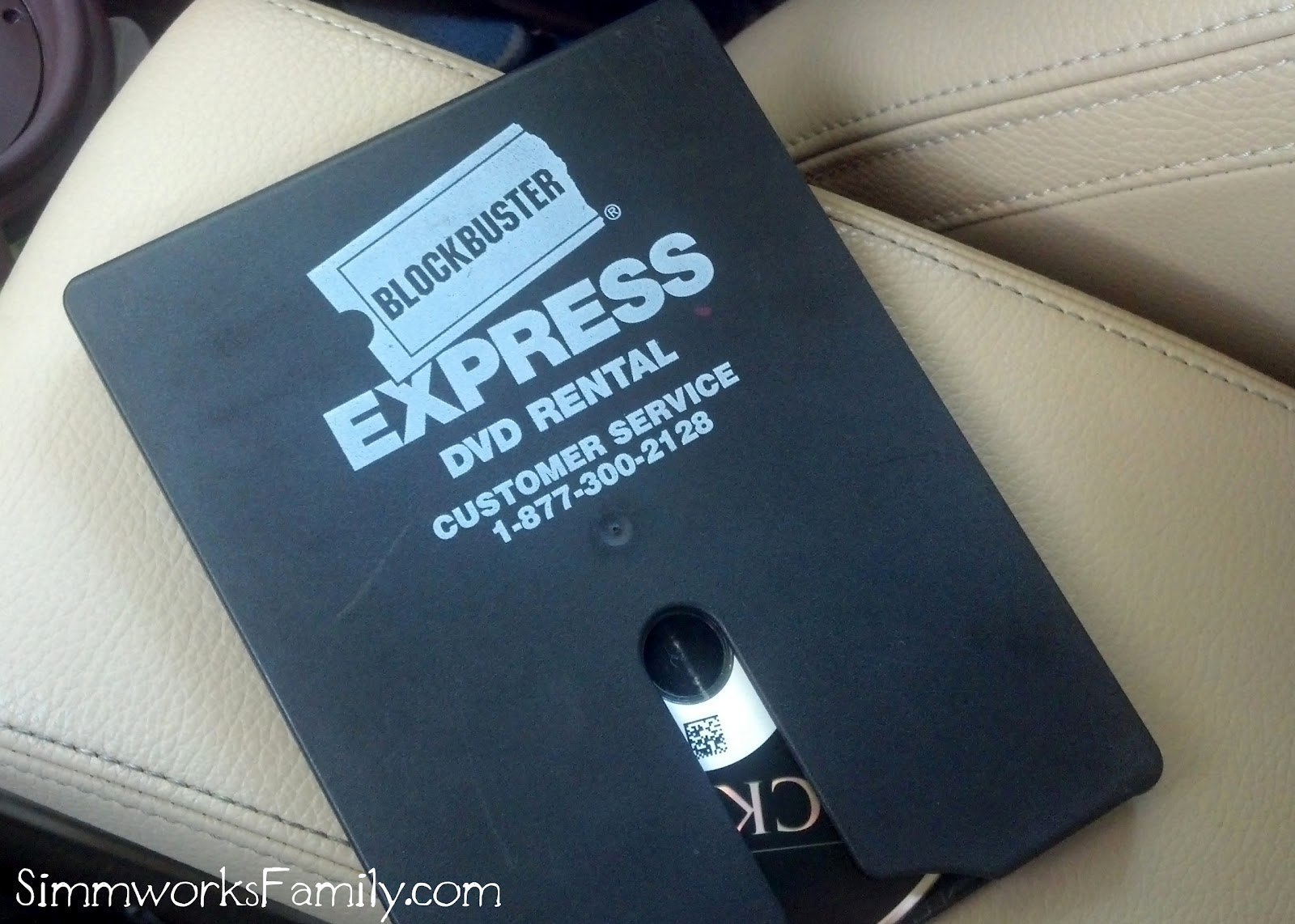 Date Night on a Budget with Blockbuster Express
