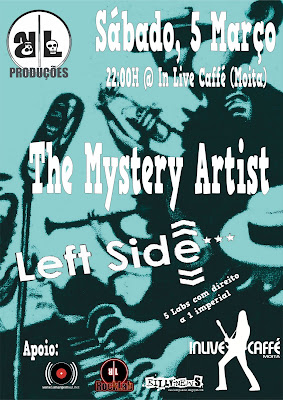 The Mystery Artist + Left Side @ In Live Caffé