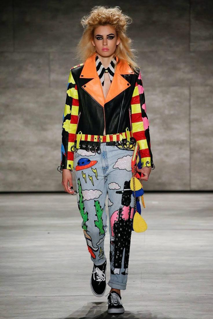 Мода Джинсы Зима 2015