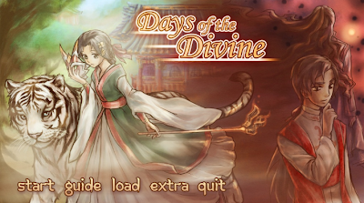visual novel review, days of the divine