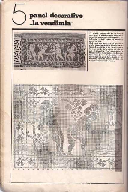 Patrón de Panel Decorativo