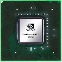 Nvidia Geforce GT 435M