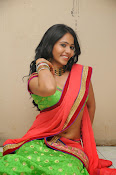 Mithra half saree photo shoot-thumbnail-3
