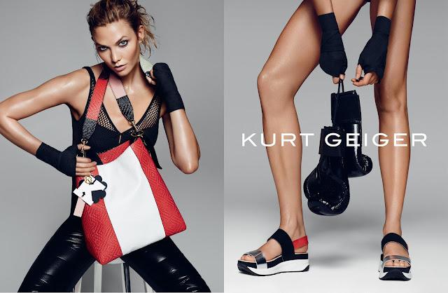 Kurt Geiger & Karlie Kloss: SS16 ad campaign