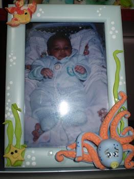 Gabriel meu primeiro netinho.