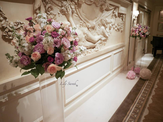 Wedding Decoration at Salisbury Room - The Peninsula by Lily Sarah