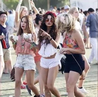 Coachella Fashion Vanessa Hudgens