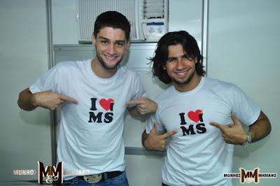 Trajetória da dupla Munhoz e Mariano