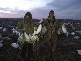 Snow Goose Hunting Guides and Outfitters