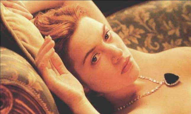 Kate winslet nude in the titanic