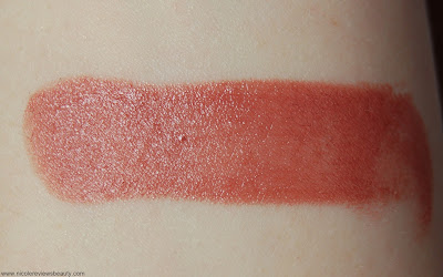 Stila Color Balm Lipstick in Vivienne Review and Swatches