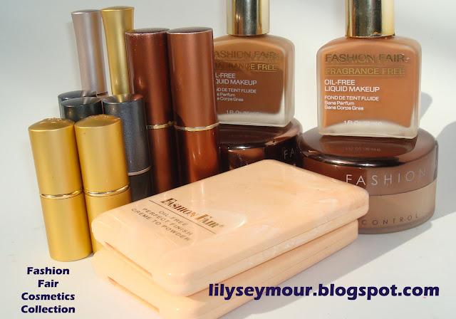 Fashion fair cosmetics foundations powders and lipsticks