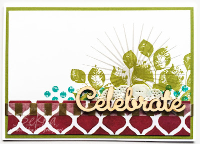 Kinda Eclectic Celebration Card - check it out here