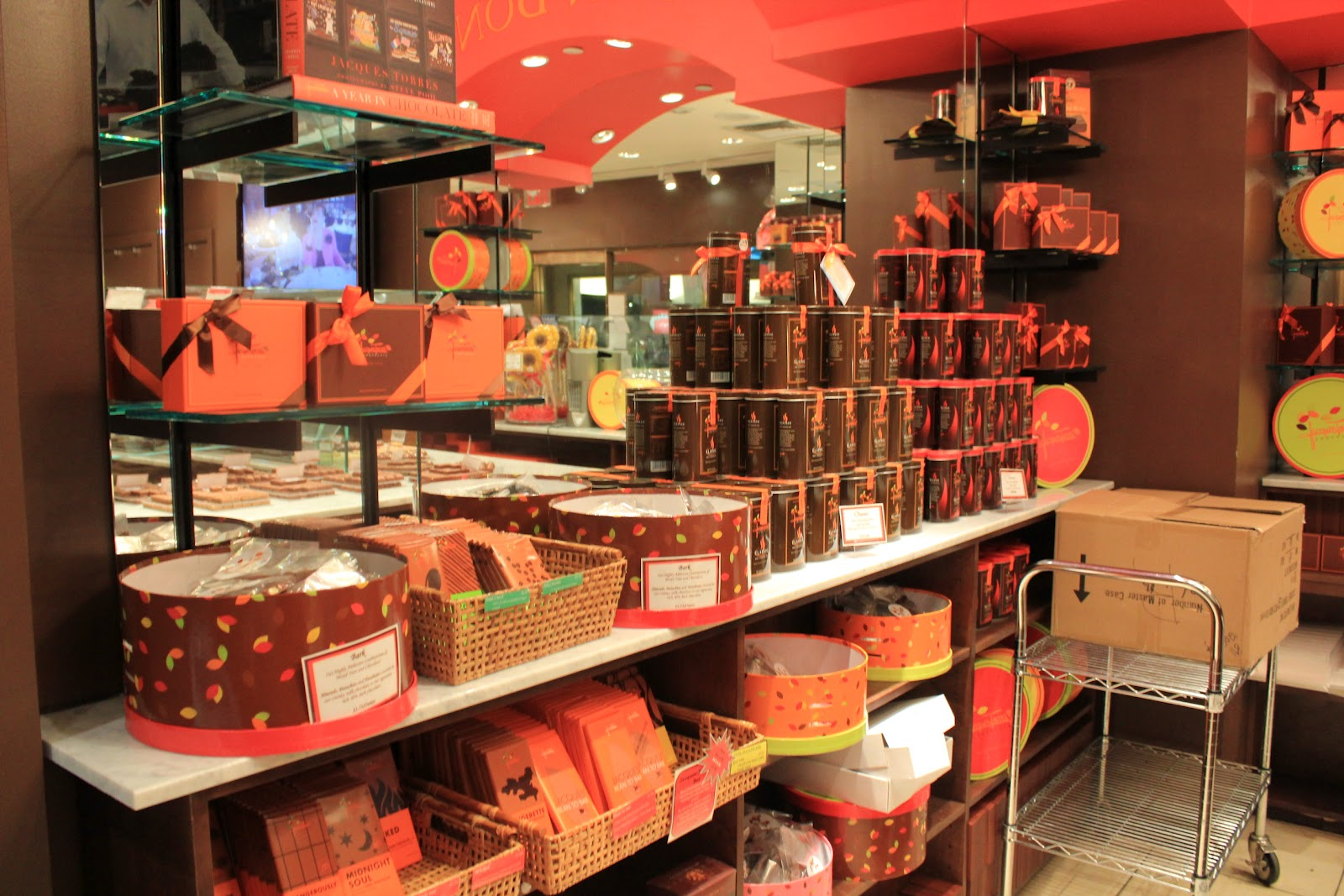 cherry's kitchen: Jacques Torres' Chocolate Cookies & NYC