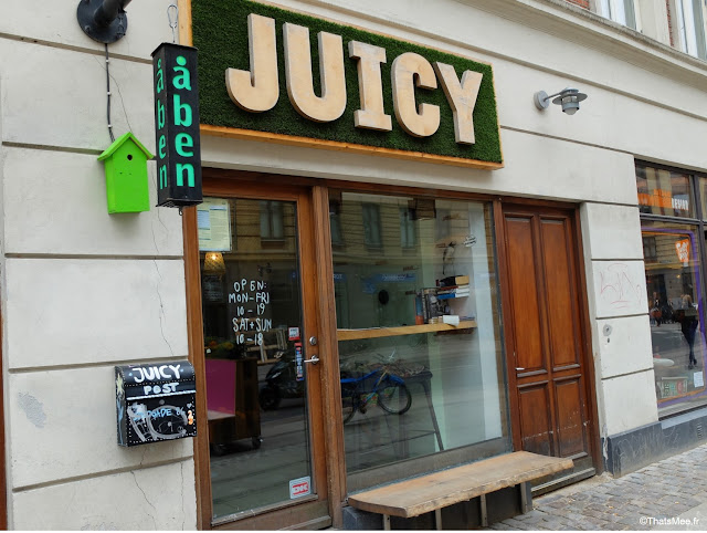 Juicy bar à smoothies Copenhague