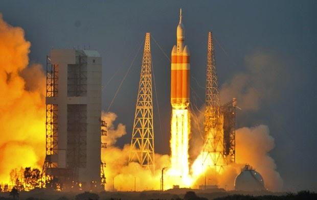 Nave Orion da Nasa é lançada para primeiro voo de testes