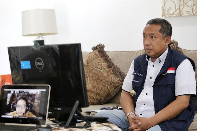 "Setahun Covid-19, Yana Sosialisasikan ""BANDUNG"""