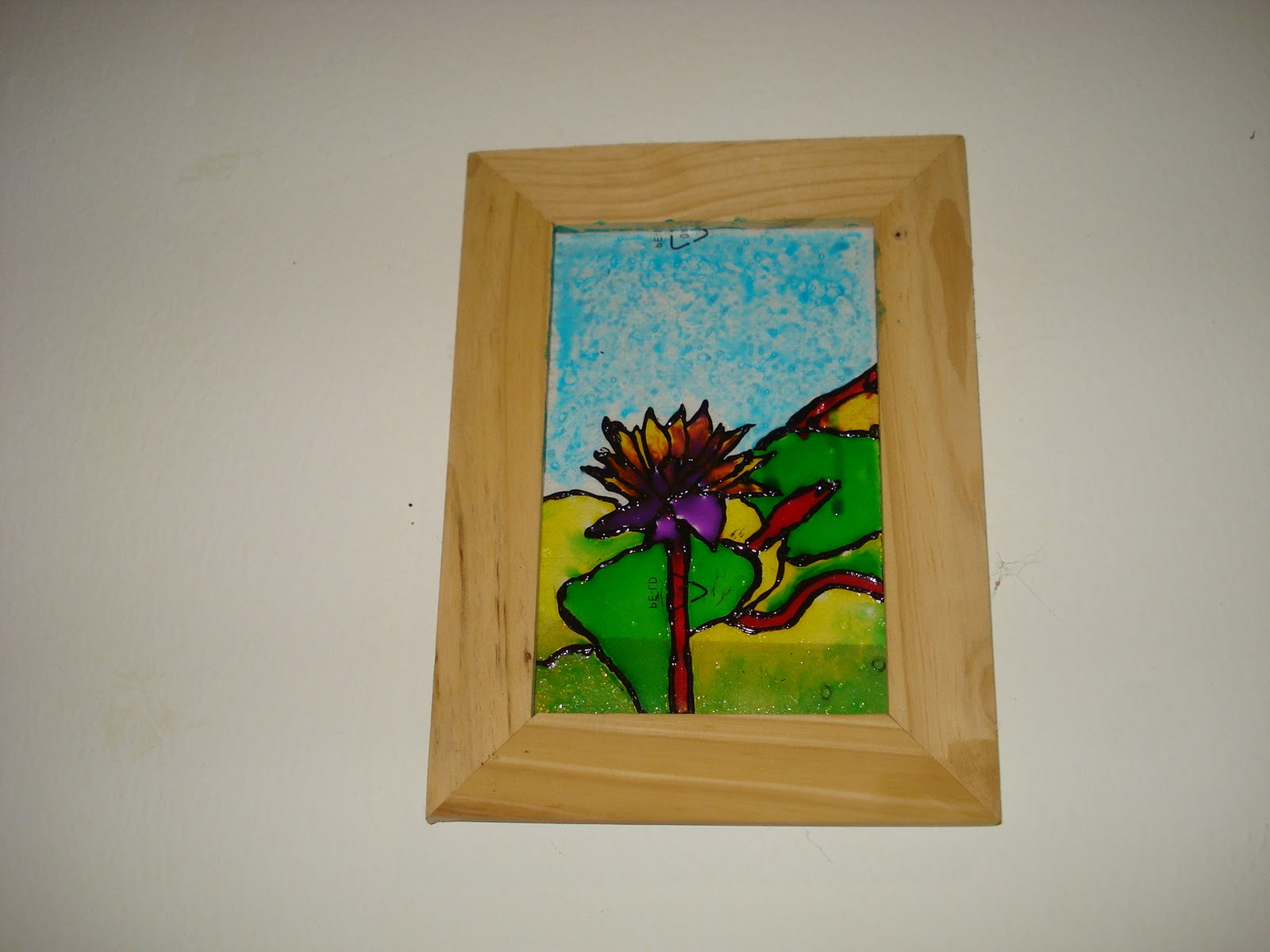 Creative crafts from zova some easy crafts for Simple glass painting pictures
