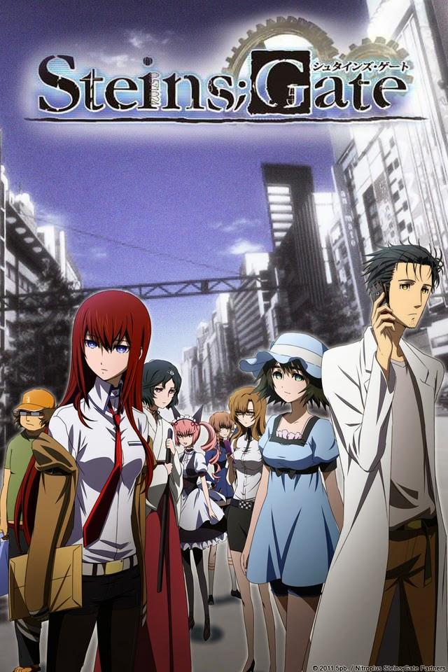 Steins Gate portada White Fox Hiroshi Hamasaki Takuya Sato Anime