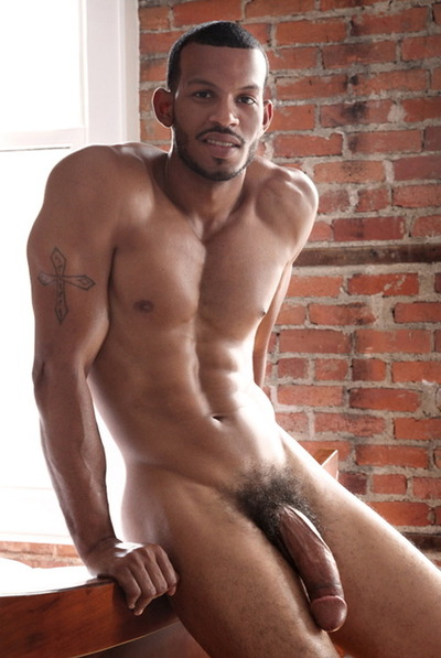 black Hung men naked