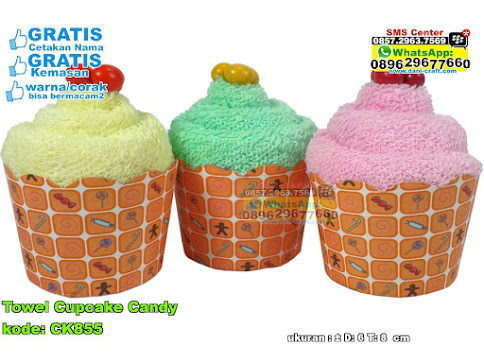Towel Cupcake Candy