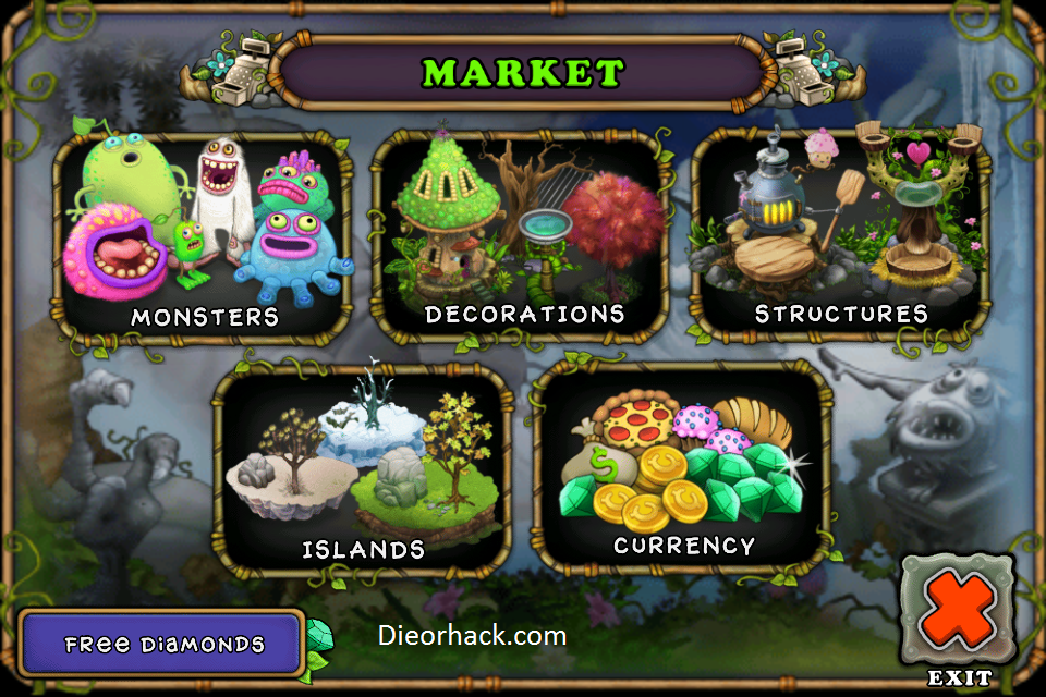 my singing monsters hack cheats iphone ipod v1 1 6