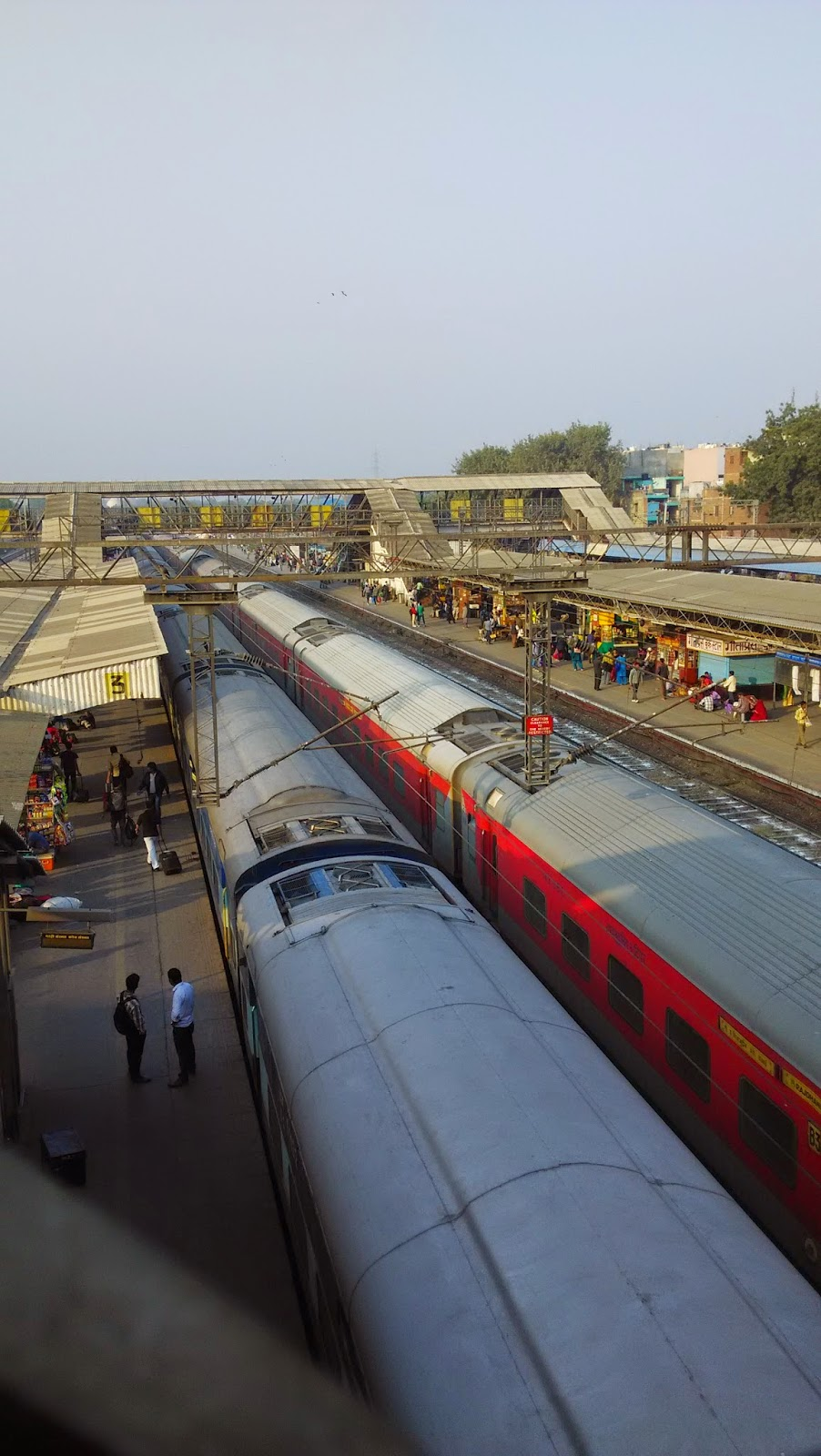 MY CHARM TO VISIT RAILWAY STATIONS