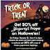 Yogurty's Halloween 50% Off Frozen Yogurt