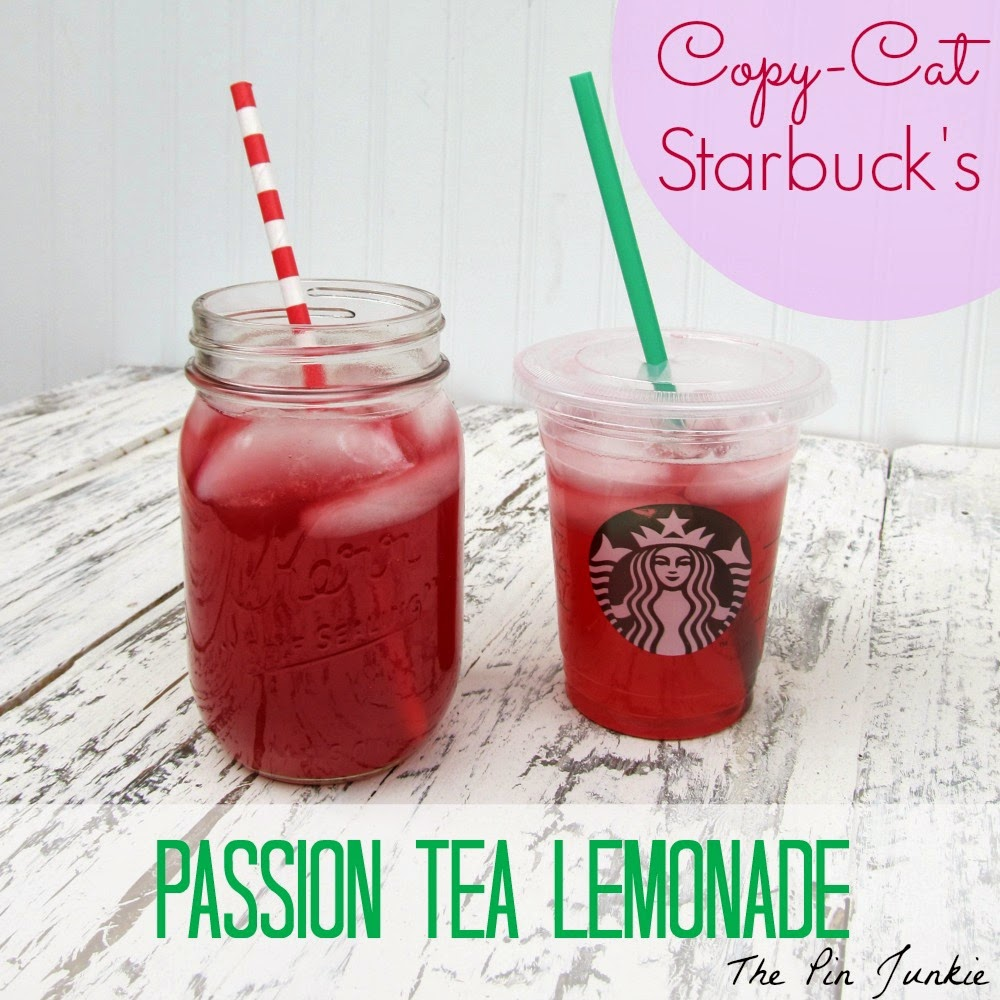 starbucks passion tea lemonade recipe