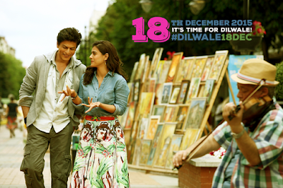 dilwale, srk, shah rukh khan, kajol, varun dhawan, boman irani, hint filmi, indian movie, Bollywood, 2015,