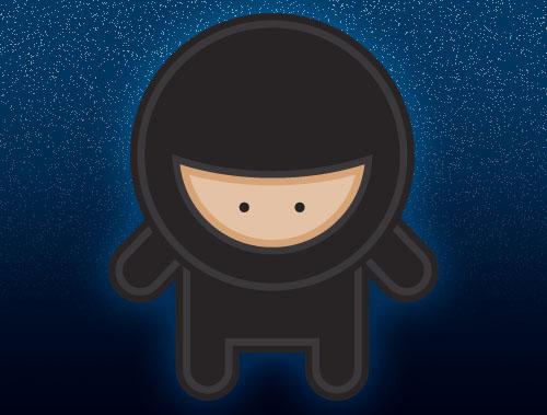 งาน Character Design Ninja Boy
