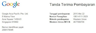 Pembayaran Google Adsense untuk AutoCAD Tangerang.