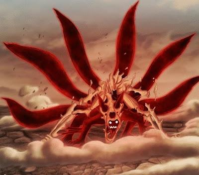 Naruto Kyubi Ekor 6