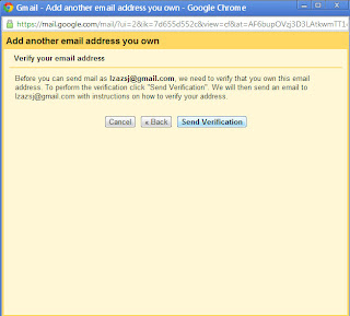 Send verification - how to link multiple gmail accounts