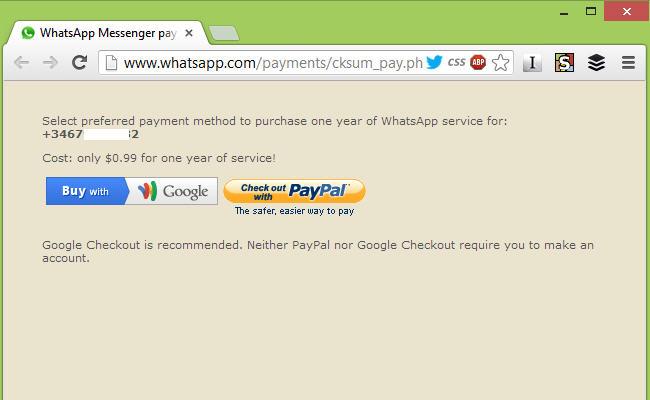 Prolongar la prueba de Whatsapp gratuitamente, whatsapp gratis