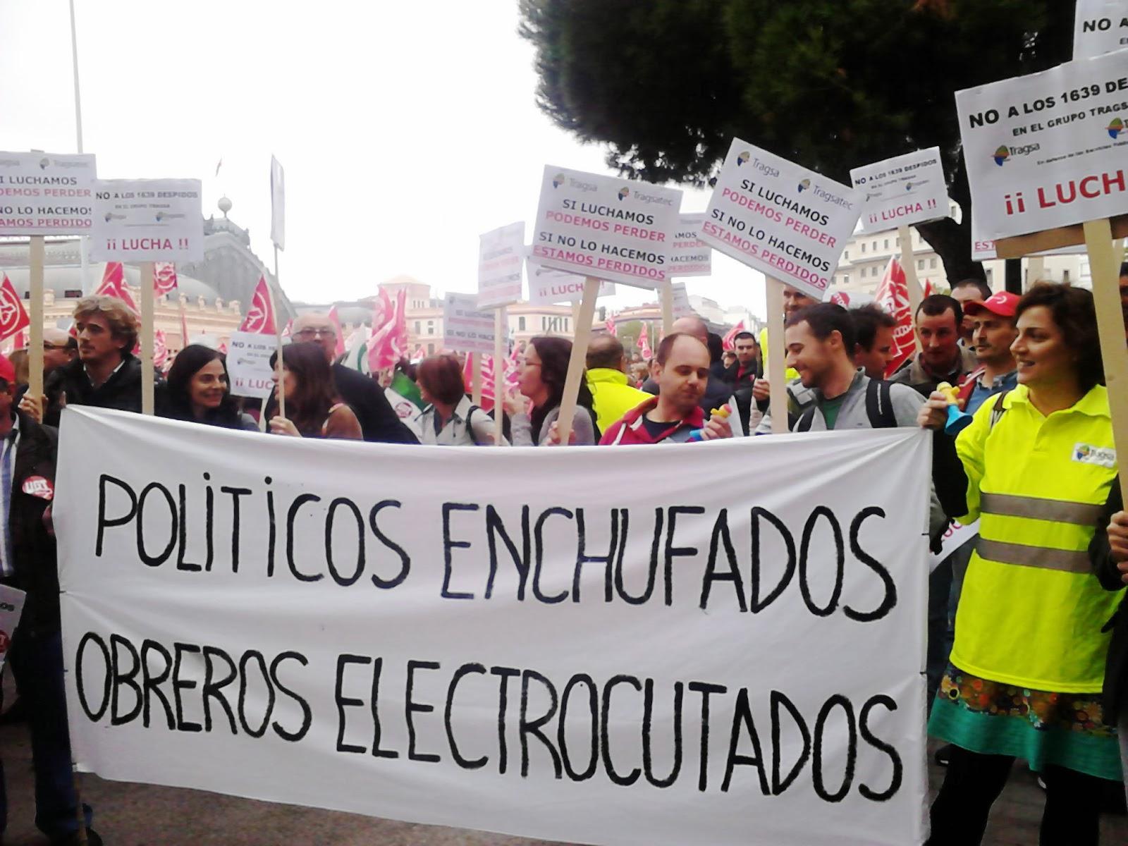 Torrelavega, cruce de caminos: Santander: La plantilla de Tragsa ...
