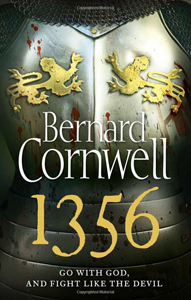 Portada de 1356 de Bernard Cornwell