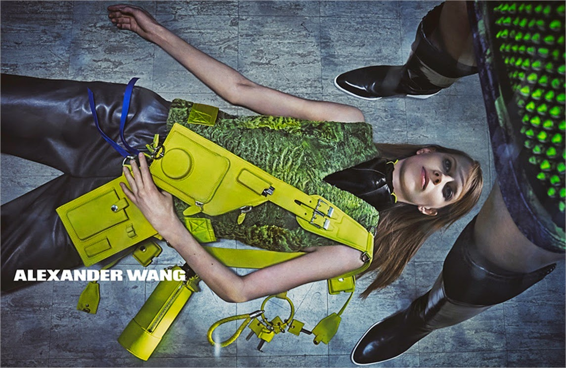 Alexander Wang's Fall/Winter 2014 Ad Campaign