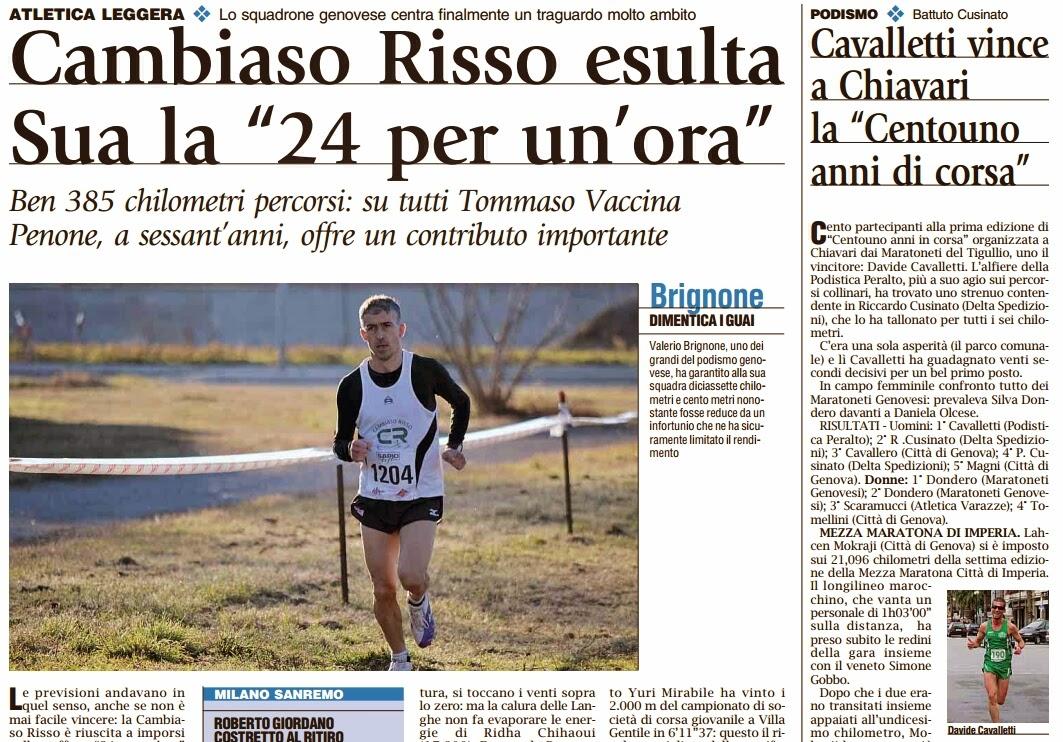 Image Gazzetta Del Luned Cambiaso Risso Vince La 24 X 1h Cavalletti A ...