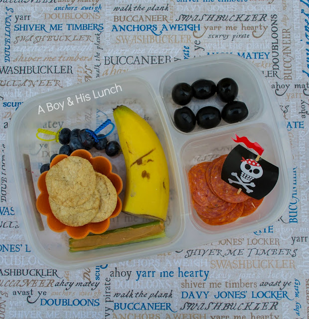 A pirate lunch for International Talk Like a Pirate Day!