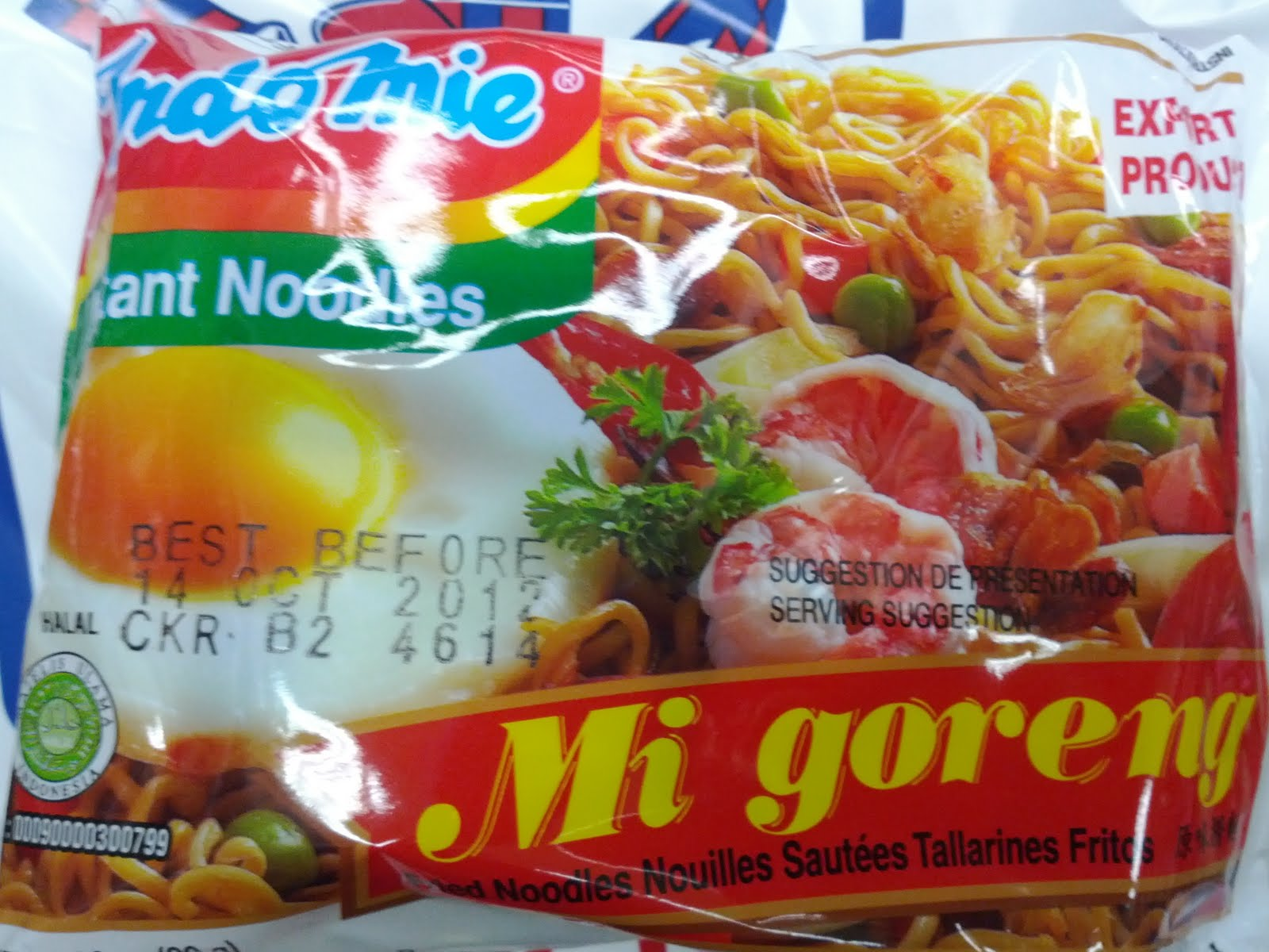 Indomie mi Goreng Toxic Indomie mi Goreng Contain
