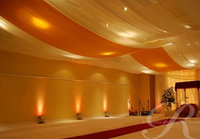 Wedding Ceiling Decorations 39 Superb Simply use drape the