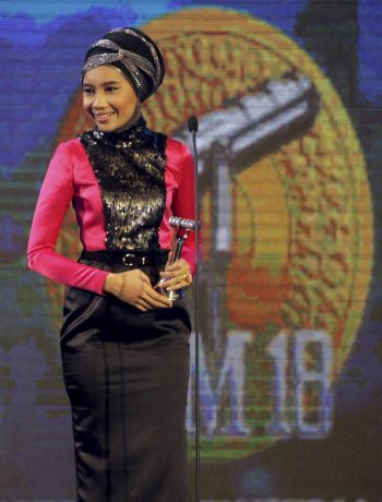 Gambar Yuna Lagu Penakut Trofi Ditarik Balik AIM18 Sebab Bantahan