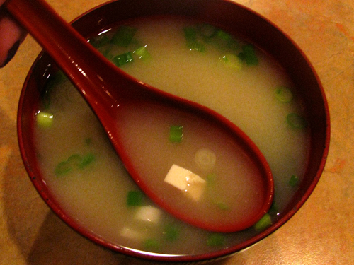 Miso Soup, it's not just for eating out...