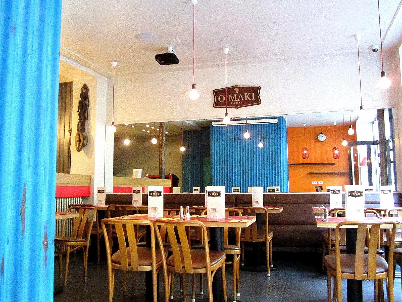 Fourchette afro o 39 maki afro mango cie - Restaurant africain porte de clignancourt ...
