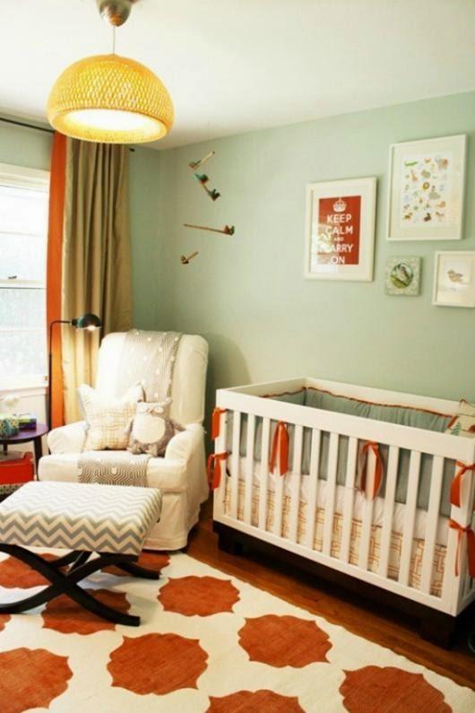 orange baby nursery baby nursery rockers rustic