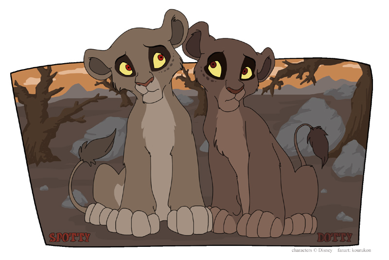 Lion King Dotty Nuka And Dotty | www.i...